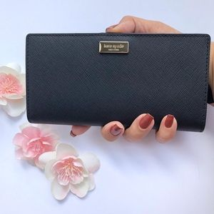 Kate Spade Classic Black Wallet Stacy Laurel St